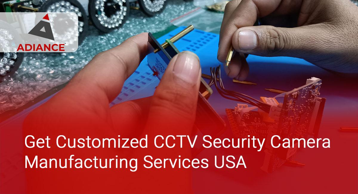 CCTV Security Camera Manufacturing