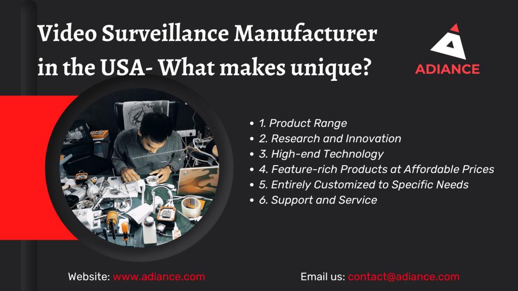 Video Surveillance Manufacturer
